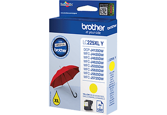BROTHER LC-225XL Geel