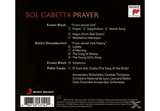 Sol Gabetta, Amsterdam Sinfonietta, Orchestre National De Lyon, Cello Ensemble Amsterdam - Prayer - (CD)
