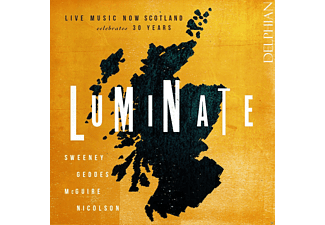 Emma Versteeg, Maryam Sherhan, Laura M. Smith, Geoffrey Tanti, Wildings, Astrid String Quartet, Spencer-Strachan Duo - Luminate [CD]