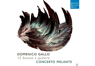 Concerto Melante;Various - Domenico Gallo: Suonate A Quattro - (CD)