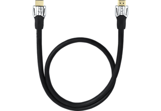 OEHLBACH High-Speed-HDMI®-Kabel mit Ethernet Matrix Evolution 170, High-Speed-HDMI-Kabel, 1700 mm, Schwarz
