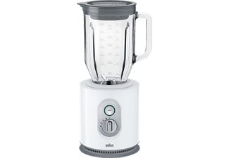 BRAUN JB 5160 IdentityCollection Standmixer Weiß (1000 Watt, 1.6 Liter)
