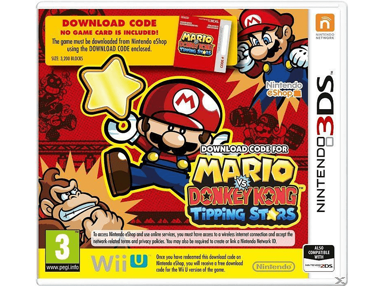Mario vs. Donkey Kong Tipping Stars Nintendo 3DS gaming φορητές κονσόλες games 2ds  3ds