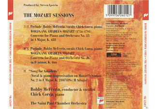Bobby McFerrin, Chick Corea, The Saint Paul Chamber Orchestra - The Mozart Sessions [CD]