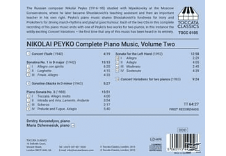 Korostelyov,Dmitry/Dzhemesiuk,Maria - Klaviermusik Vol.2 - (CD)