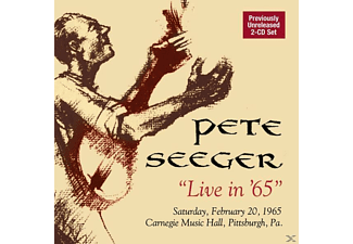 Pete Seeger - Live In 65 - (CD)