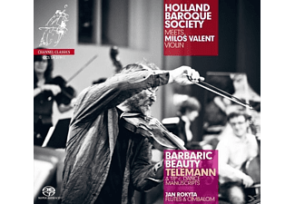 Valent, Rokyta, Holland Baroque Society, Valent/Rokyta/Holland Baroque Society - Barbaric Beauty - (SACD Hybrid)