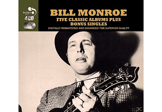 Bill Monroe - 5 Classic Albums Plus [CD]