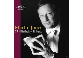 Martin Jones (pno) - 75th Birthday Tribute - (CD)