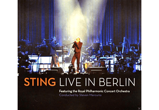 Sting, Royal Philharmonic Concert Orchestra - Sting - Sting Live In Berlin - (DVD + CD)