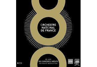 Orchestre National De France - 80 Ans De Concerts Inedits - (CD)