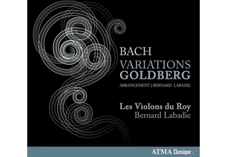 Les Violons Du Roy - Variations Goldberg - (CD)