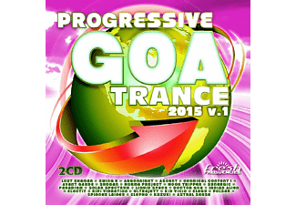 VARIOUS - Progressive Goa Trance 2015 - (CD)