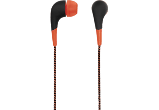 "HAMA ""Neon"" In-Ear Stereo Earphones, Orange - (00093067)"