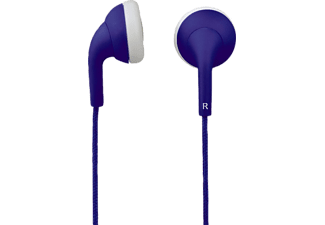 "HAMA ""Joy"" Stereo Earphones, blue - (00122670)"