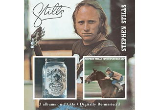 Stephen Stills - Stills/Illegal Stills/Thoroughfare Gap - (CD)