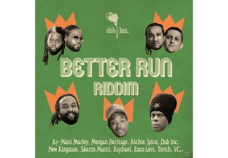 Dub Inc - Better Run Riddim - (CD)