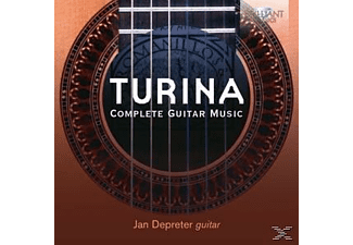 Jan Depreter - Complete Guitar Music - (CD)
