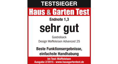 gastroback waffeleisen 42422 advanced 2s silber mediamarkt. Black Bedroom Furniture Sets. Home Design Ideas