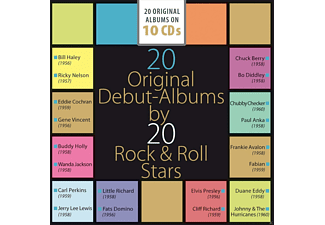 Various - 20 Original Debut-Albums by 20 Rock & Roll Stars [CD]