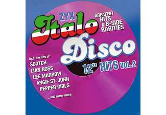 "VARIOUS - Zyx Italo Disco 12"" Hits Vol.2 - (CD)"