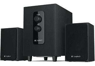 LOGITECH Z443 Multimedia Speakerset Zwart
