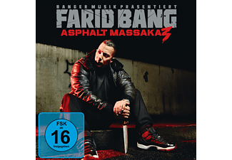 Farid Bang - Asphalt Massaka 3 - (CD + DVD Video)