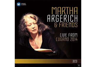 Martha & Friends Argerich - Live From Lugano 2014 [CD]