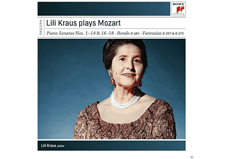 Lili Kraus - Lili Kraus Plays Mozart (Piano Sonatas) - (CD)
