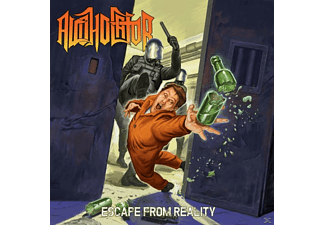 Alcoholator - Escape From Reality (Transparent Beer Vinyl) - (Vinyl)