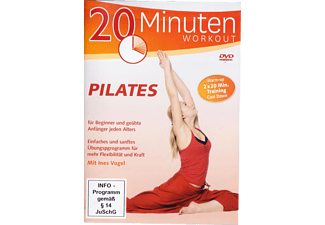 Pilates-2x 20 Minuten Workout [DVD]