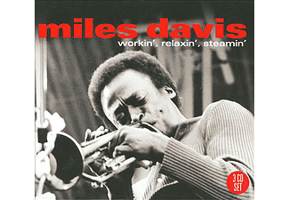 Miles Davis - Workin', Relaxin', Steamin' (CD)