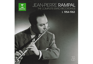 Rampal Jean-pierre - The Complete Erato Recordings Vol.1 1954- [CD]