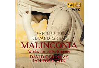 Ian Fountain, David Geringas - Malinconia: Werke Für Cello Und Klavier - (CD)