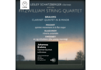 Lesley Schatzberger, Fritzwilliam String Quartet - Klarinettenquintett/+ - (CD)