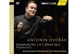 Deutsche Radio Philharmonie - Symphony No. 1 Op.3 Rhapsody Op.14 - (CD)