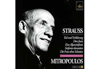 Philharmonic Orchestra, Wdr So, Wiener Philharmoni - Strauss, Dimitri Mitropoulos - (CD)