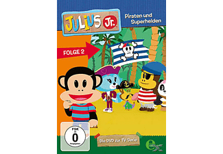 Julius Jr. - Piraten und Superhelden, Folge 2 - (DVD)