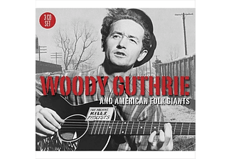 Woody Guthrie - Woody Guthrie and American Folk Giants (CD)