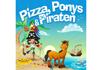 Madagascar 5 - Pizza, Ponys & Piraten - (CD)