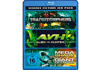 Science Fiction 3 in 1 - (Blu-ray)