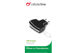 CELLULAR LINE Travel Charger - (ACHUSBCCBK)