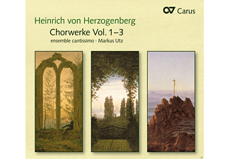 Ensemble Cantissimo - Chorwerke Vol.1-3 - (CD)
