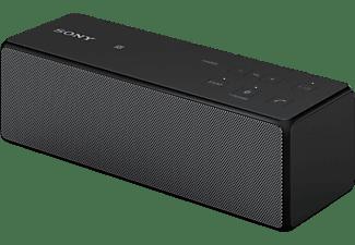 SONY SRS-X33, Tragbarer Bluetooth Lautsprecher, Ausgangsleistung 20 Watt, Schwarz