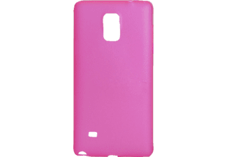 INOS Faceplate Samsung N910 Galaxy Note 4 Ultra Slim 0.5mm Fuchsia