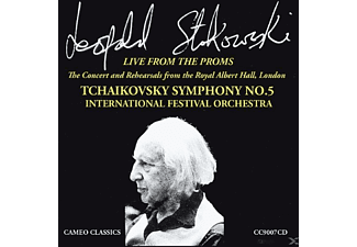 Leopold Stokowsk, International Festival Orchestra - Live From The Proms (Sinfonie 5) - (CD)