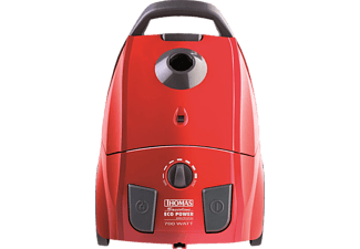 THOMAS 785.036 ECO POWER Staubsauger mit Beutel, EEK: A, Rot