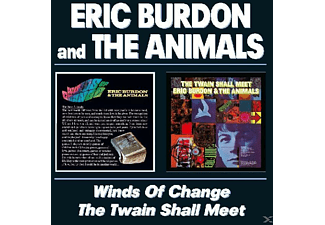 Eric Burdon And The Animals - Winds Of Change/Twain Shall Meet - (CD)
