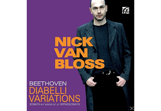 Nick Van Bloss (pno) - Diabelli-Variationen/Appassionata - (CD)