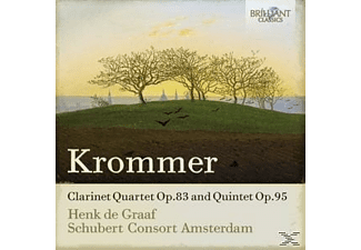 Henk De Graaf, Schubert Consort Amsterdam - Clarinet Quintets And Quartets - (CD)